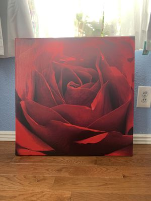 Large Rose Print/Wall Art for Sale in Commerce City, CO