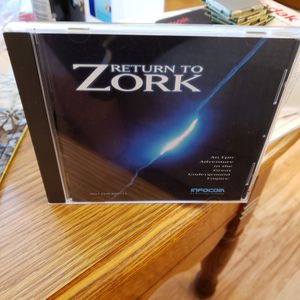 Rare Return To Zork PC CD-ROM Game 1993 By Infocom for Sale in Glenshaw, PA