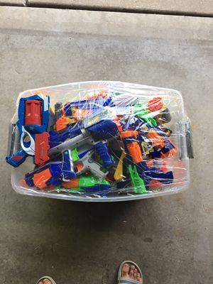 Huge Lot of Nerf Guns and Darts over 20 guns for Sale in Minneapolis, MN