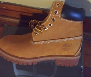 New mens 7 Timberland boot for Sale in Williamsport, PA