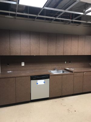 Kitchen cabinets with refrigerator for Sale in West Springfield, VA