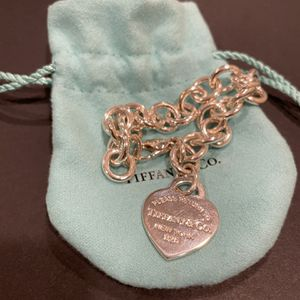 Tiffany & Co Heart Tag Charm Bracelet for Sale in Upland, CA