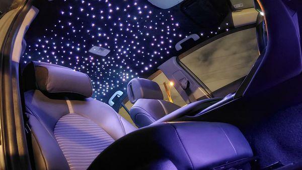 Upholstery and custom work royce lights