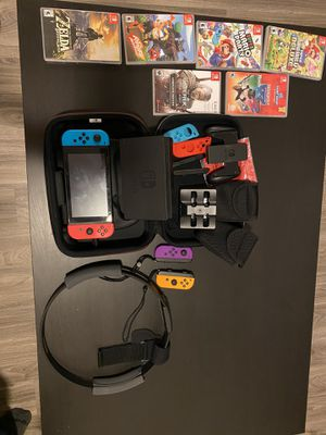 Switch plus games for Sale in Portland, OR