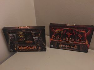 Warcraft and diablo pc games for Sale in Lynnwood, WA
