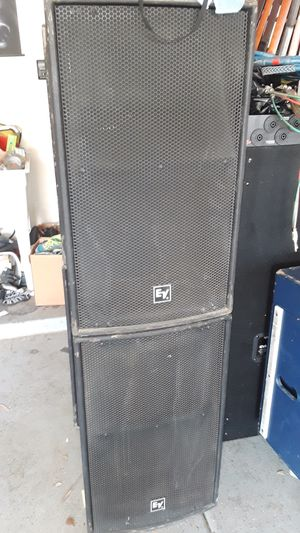 4 EV X-Array Xi 1152A/64 mains PA speakers for band / dj.... Call or text 4O8 499 97OI to purchase for Sale in Litchfield Park, AZ