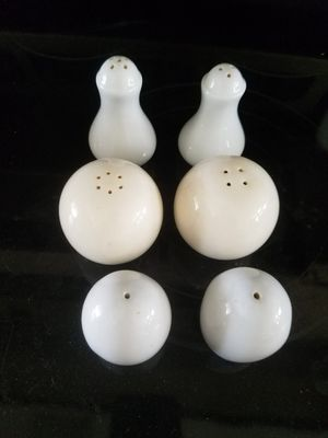 3 sets salt and pepper shakers for Sale in West Palm Beach, FL