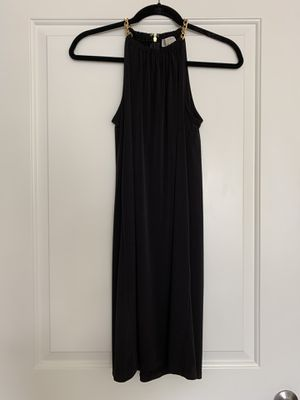 NWT - Michael Kors Little Black Dress with gold accent - Size XS for Sale in Atlanta, GA