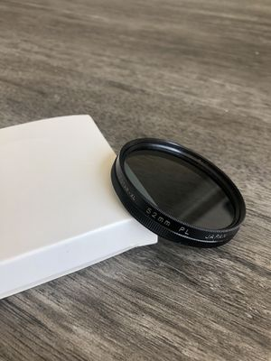 Victar 52mm camera lens filter canon for Sale in Tampa, FL