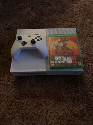 Xbox One w/ Red Dead Redemption 2 for Sale in Cleveland, OH