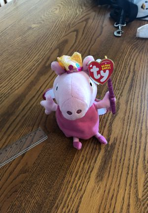 Ty Beanie Babies Princess Peppa Plush for Sale in Aurora, CO