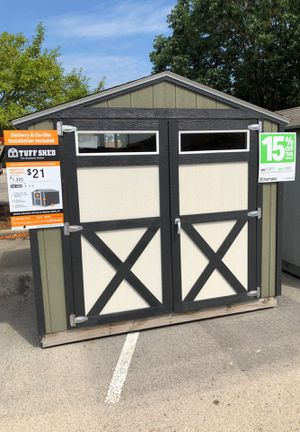 8x8 Tuff Shed delivered and installed for Sale in Joliet, IL