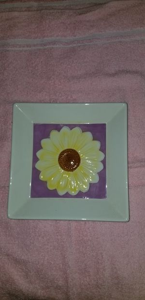 Flowered Serving Tray for Sale in Victoria, VA