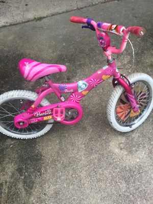 Girls Kids Barbie Bike (check my other offers too) for Sale in UPPER ARLNGTN, OH