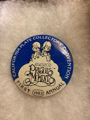 Precious Moments Collector Pin Button 1983 for Sale in Los Angeles, CA