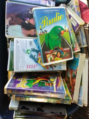📼Around 150 VCR 📼VHS Tapes Adult and Kid for Sale in Farmington, KY