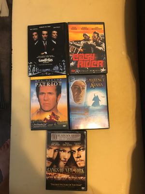 Set of 5 dvd movies for Sale in FL, US
