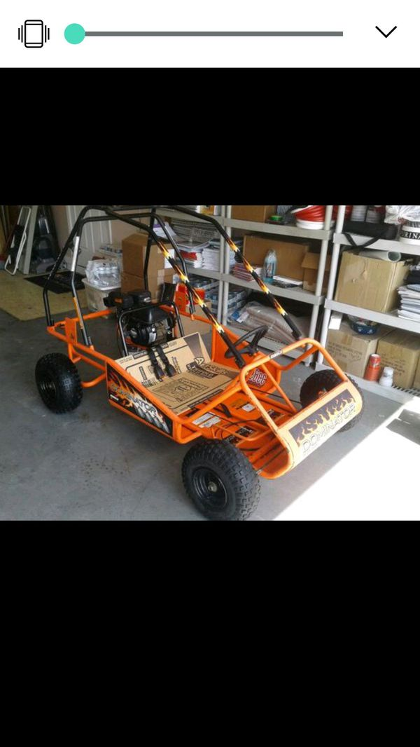 Go kart 2 seat 126cc Dominator with roll bars for Sale in Westport, MA -  OfferUp
