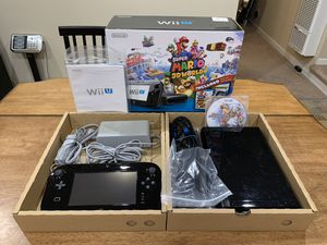 Nintendo Wii U WUP-101(02) 32GB Console w/ Accessories, Manual, Box, & Smash Bro for Sale in Newark, CA