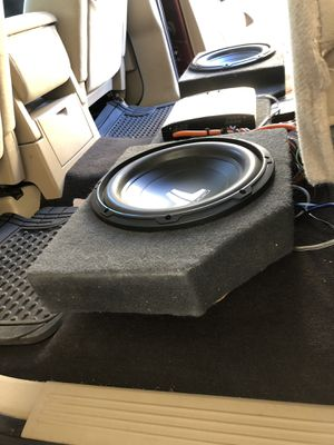 "Jl audio 12"" with box for Sale in San Jose, CA"