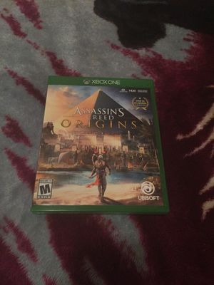 Assasins creed origins Xbox one for Sale in Houston, TX