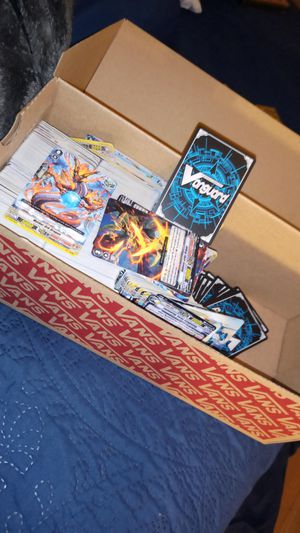 Vanguard trading cards for Sale in Riverside, CA