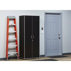Utility Storage Cabinet w/ Lock, Black (NEW IN BOX) for Sale in Indianapolis, IN