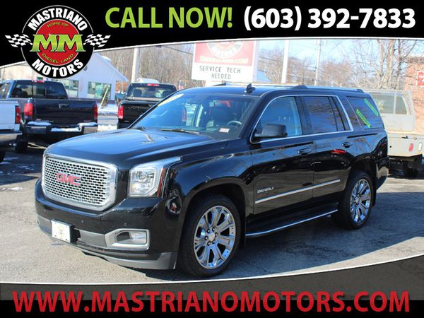 2016 GMC Yukon 4WD DENALI FULLY LOADED LIKE NEW BUY USED AND SAVE