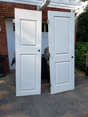 2 doors 2 panel 24x80 and 28x80 for Sale in Falls Church, VA