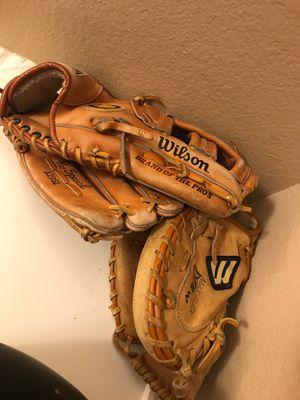 Baseball gloves for Sale in Carrollton, TX