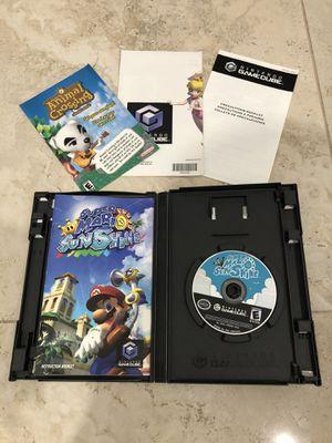 Super Mario Sunshine CIB for Gamecube for Sale in Davie, FL