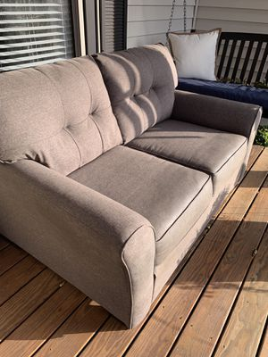 2 year old sofa. Good shape. Light gray cloth material. Only asking $75 for Sale in Chesterfield, VA