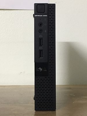 "Micro DELL Optiplex 9020 7"" inches Core i5 Corei5 8 GB RAM 256GB SSD Windows 10 desktop computer for Sale in Pembroke Pines, FL"