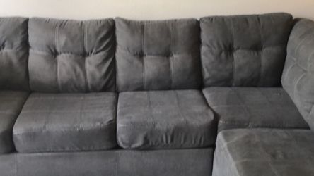 Grey Sectional Left Arm for Sale in Addison,  TX
