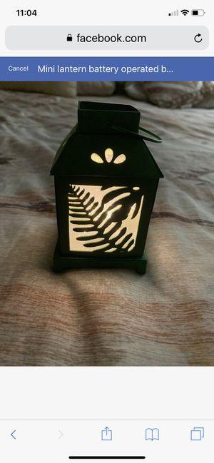 Mini lantern battery operated brand new for Sale in Carmel Hamlet, NY