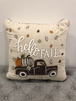"""19"""" x 19"""" 🍂Hello Fall Decor PILLOW for Sale in Palm Springs, FL"""