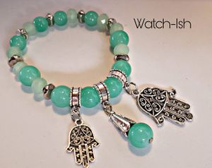 (NEW) Hand of Fatima bracelet (available in 4 colors) for Sale in Revere, MA