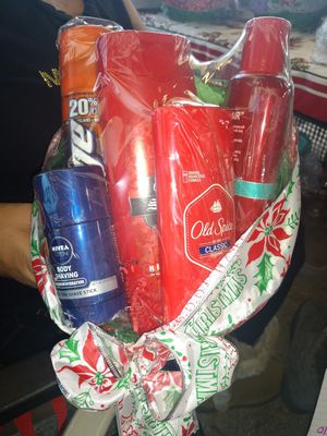 Old spice Christmas basket for Sale in Azusa, CA