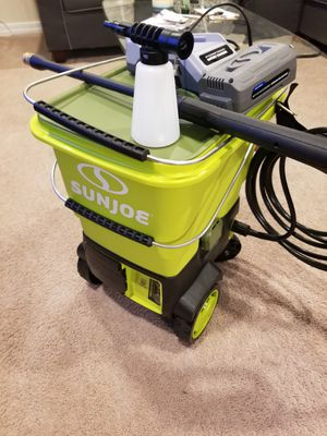 Sun Joe Portable Pressure Washer 40V for Sale in Middle Island, NY