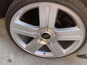 Texas edition rims 24 for Sale in Fresno, CA