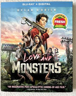"""Movie """" Love And Monsters"""" Bluray+Digital for Sale in Norwalk,  CA"""