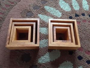Square Shelfs - 2 sets for Sale in Berlin, CT