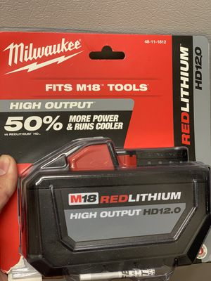 Milwaukee bateria 12.0 for Sale in Adelphi, MD