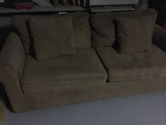 Microfiber sleeper sofa for Sale in Murfreesboro,  TN