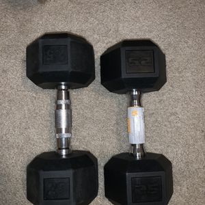 2-25 Pound Dumbells for Sale in Visalia, CA