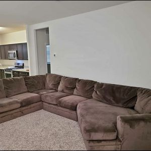 Ashley Furniture Brown Family Sectional + Free Delivery for Sale in Scottsdale, AZ