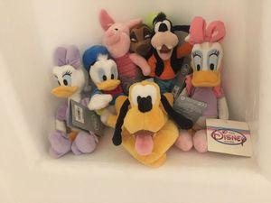 7 mini Disney stuffed toys for Sale in Gilbert, AZ