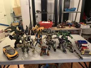 Transformers Movie Toys Action Figures 15 pcs Lot for Sale in Los Angeles, CA