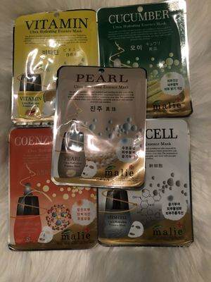 Assorted spa facial face masks bundle for Sale in Carrollton, TX
