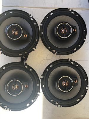 "Kenwood - 6-1/2"" 3-Way Car Speakers with Polypropylene Cones and Pioneer In-Dash CD/DM Receiver - Bluetooth for Sale in Stanton, CA"